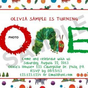 Hungry Caterpillar Birthday Photo I..